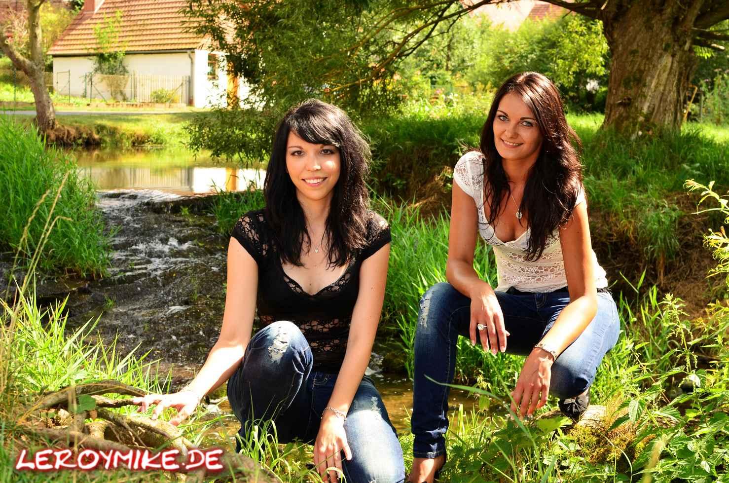 Freundinnen Shooting mit Marta und Nadine
