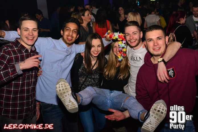 Alles 90er Party KUZ Fulda 28-01-2017