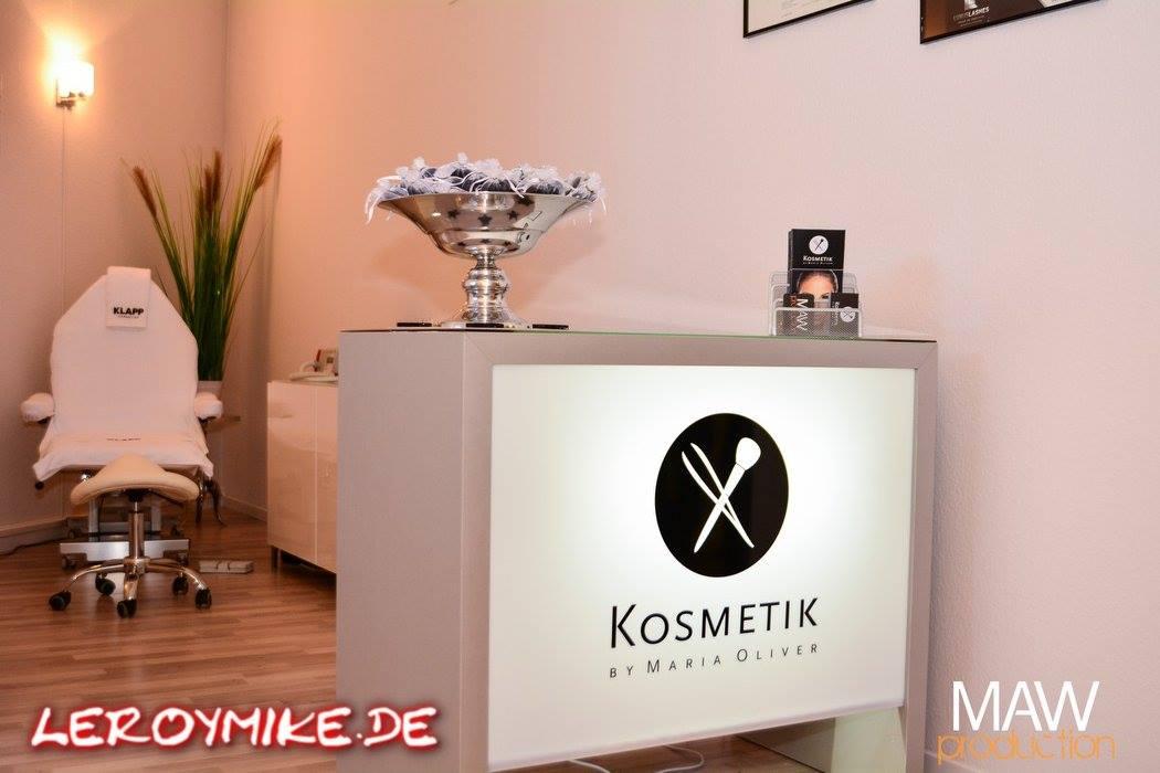 Kosmetik by Maria Oliver eine gelungene Kosmetikstudio Neueröffnung