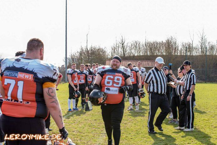 Freundschaftsspiel Fulda Saints Rüsselsheim Crusaders