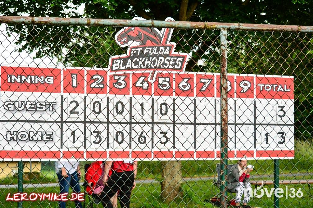 Landesliga Baseball Fulda Blackhorses – Darmstadt Whippets