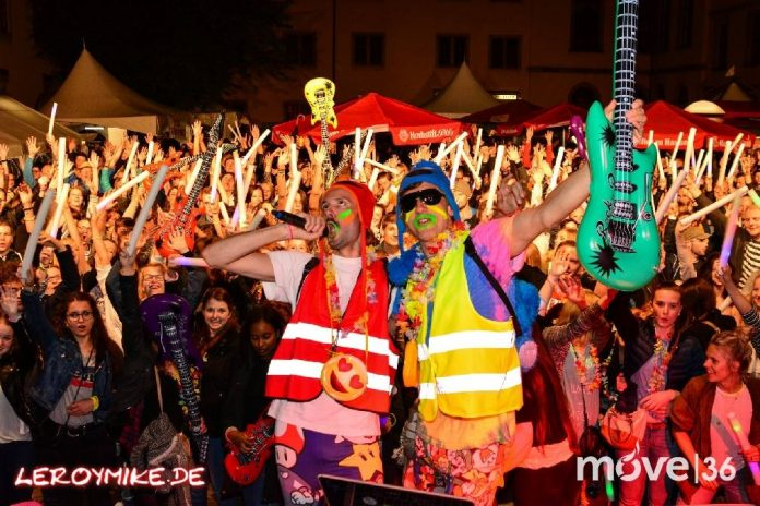 Osthessen Stadtfest Fulda Alles 90er Party Museumshof Fulda