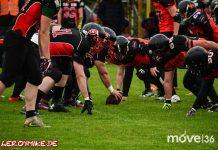 Osthessen American Football grandioser Saisonauftakt Fulda Saints