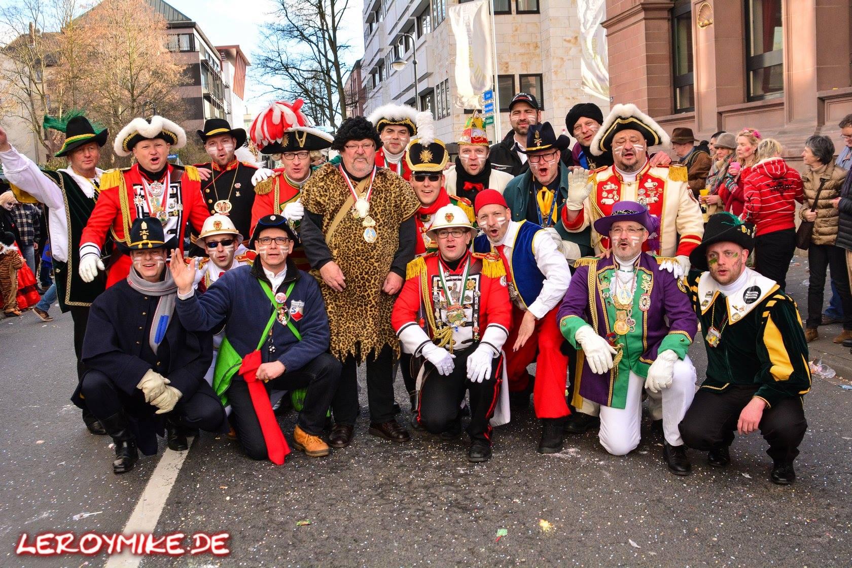 Osthessen Rosenmontagsumzug Fulda Karneval 2017