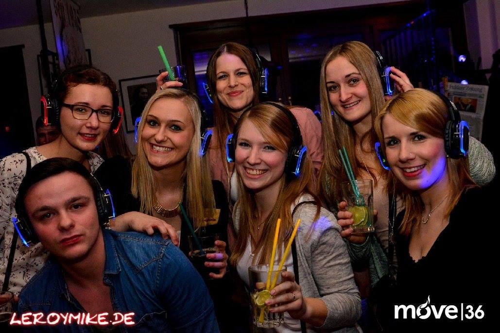 Osthessen Silent Disco Kopfhörerparty 10-02-2017