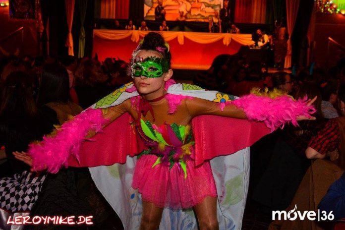 Osthessen Tanz der Teufel Petersberg Karneval 2017