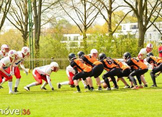 Football Fulda Colts vs Rodgau Pioneers 01-05-2016