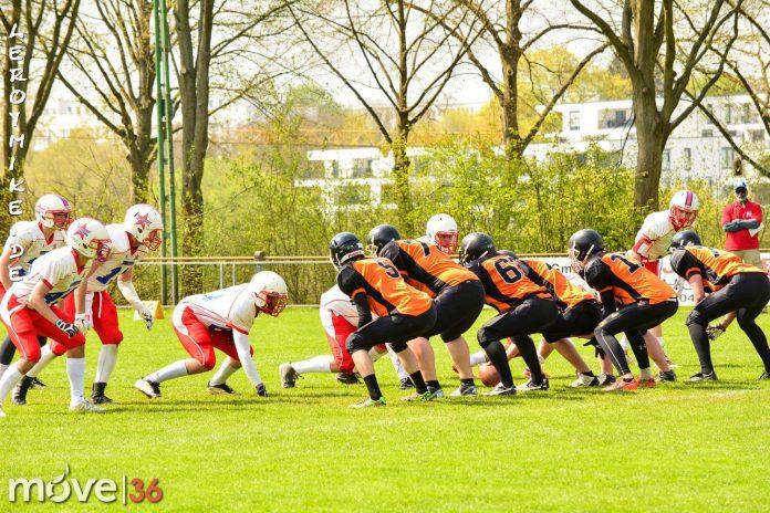 Football Fulda Colts vs Rodgau Pioneers 01-05-2016
