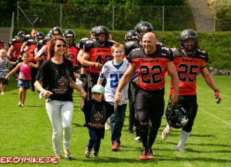 Football Fulda Saints vs Hanau Hornets 09-07-2016