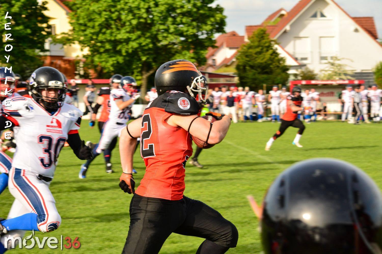 Football Fulda Saints Wetzlar Wölfe 21-05-2016