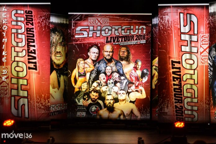 Wrestling wXw Shotgun Livetour 2016 Fulda
