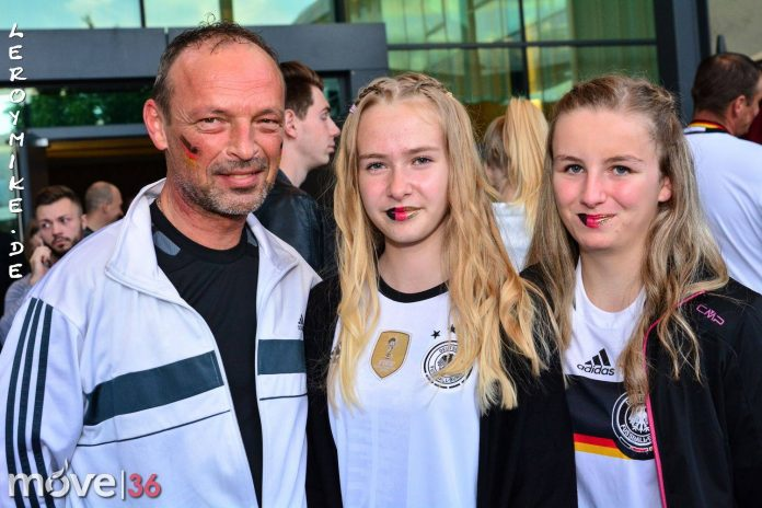 Public Viewing Deutschland-Italien 6-5 EM 2016
