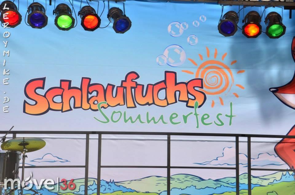 Schlaufuchs Sommerfest Schlossgarten Fulda