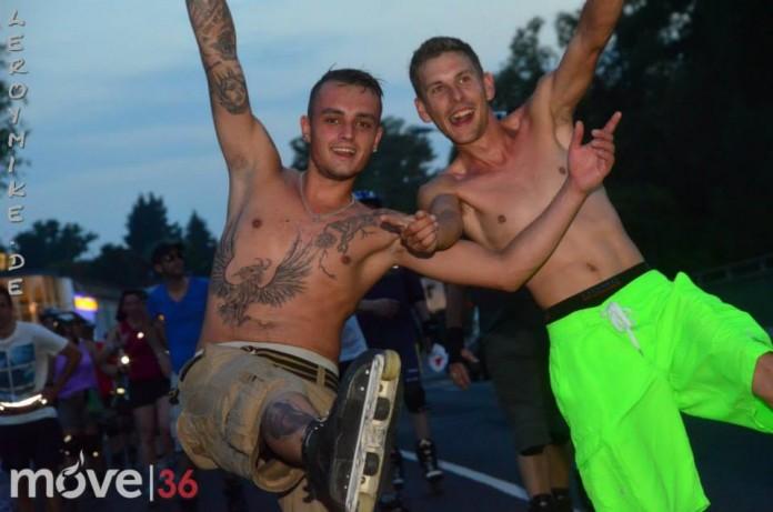 2. Skatenacht Fulda 180 Teilnehmer 16,6 KM 19-06-2013