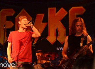 ACDC Party mit FAKE Support The Hailstone
