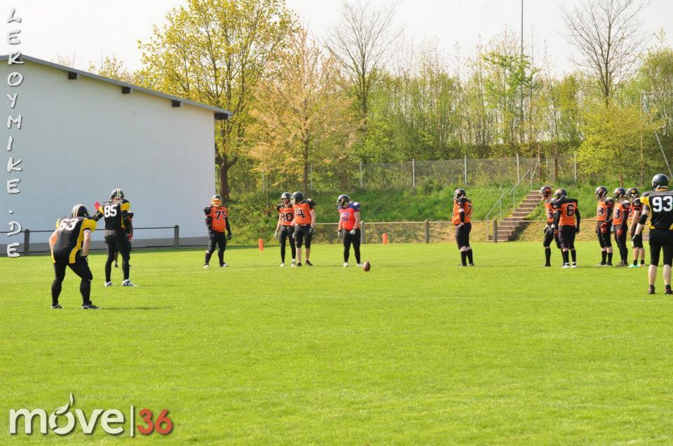 Football Fulda Saints vs. Bad Hersfeld Raiders
