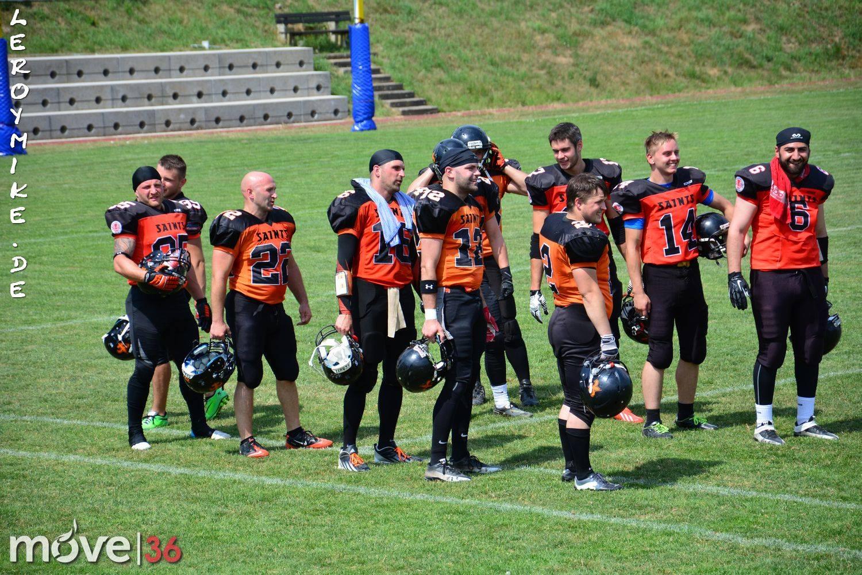 Football Fulda Saints vs Rodgau Pioneers 2015