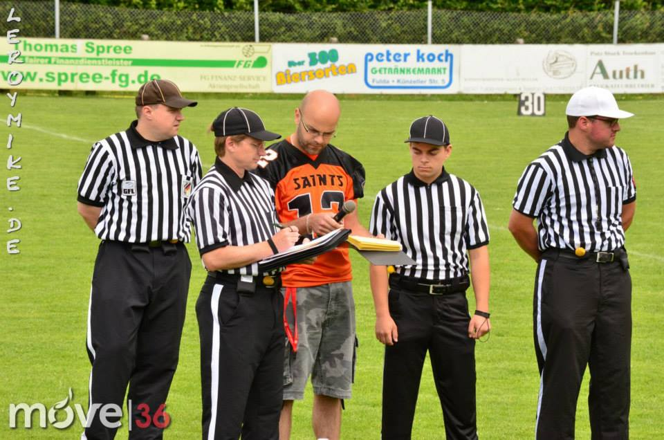 Football Fulda Saints vs. Trier Wolverines 52:0