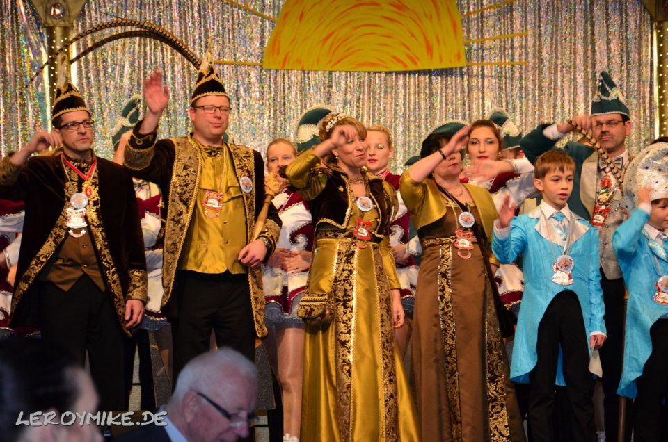 Fremdensitzung Bachrainer Karnevalisten