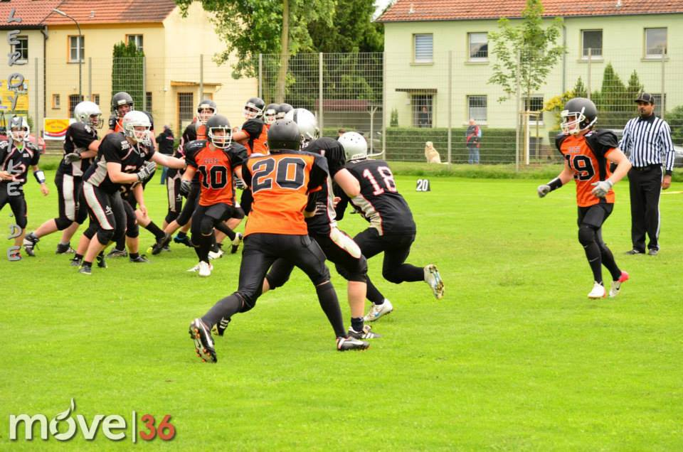Fulda Colts VS. Neuwied Rockland Raiders 29.06.2013