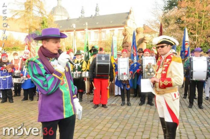 Generalmobilmachung der Fuldaer Garden 2014