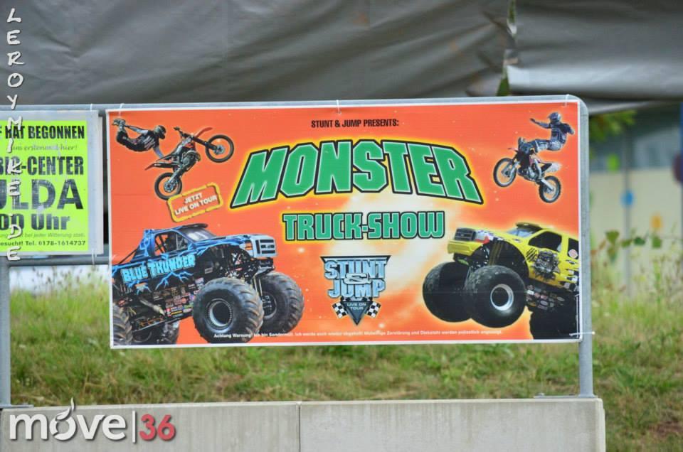Monster Truck-Show 17.08.2014