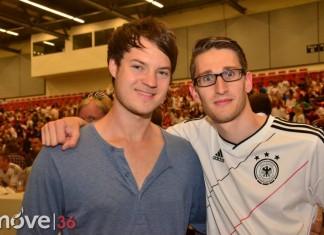 public viewing Deutschland vs. Frankreich 1:0 inkl. Autokorso