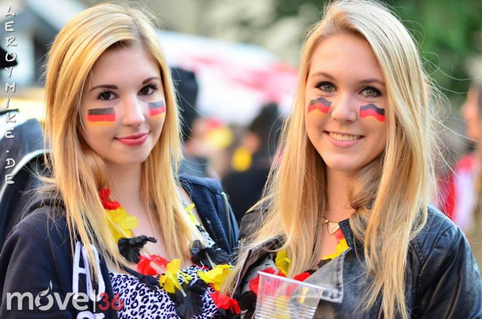 public viewing Deutschland vs. Ghana 2:2
