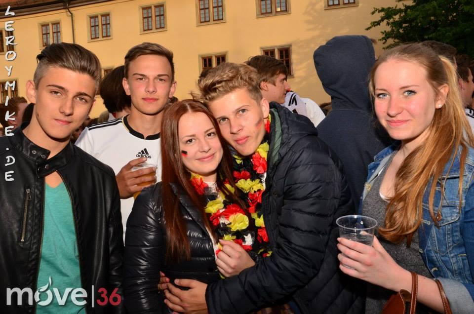 public viewing Deutschland vs. Protugal 4:0