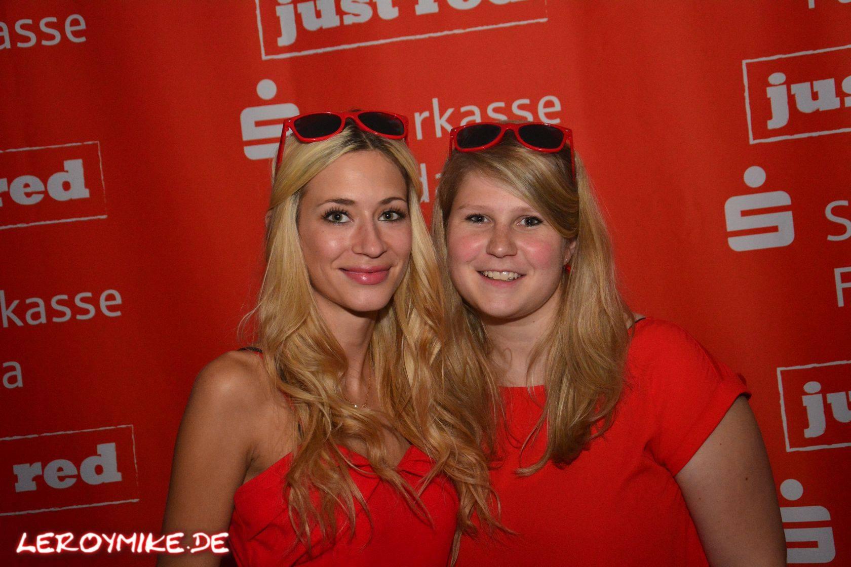 """Sparkasse Fulda präsentiert """"just red"""" planet radio S-Club Fulda"""