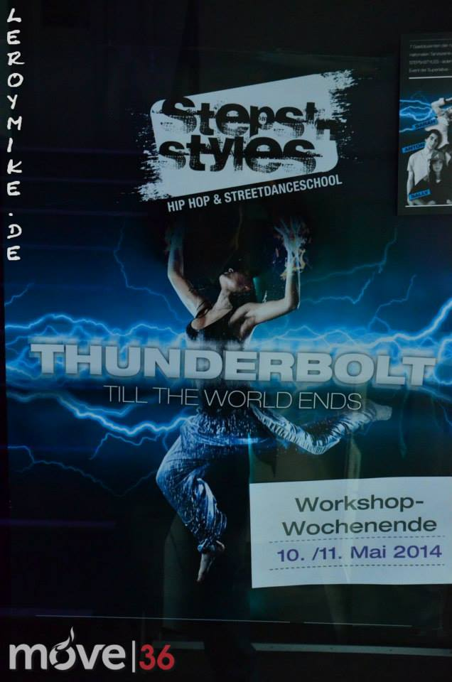 THUNDERBOLT 2014 never miss a chance to dance