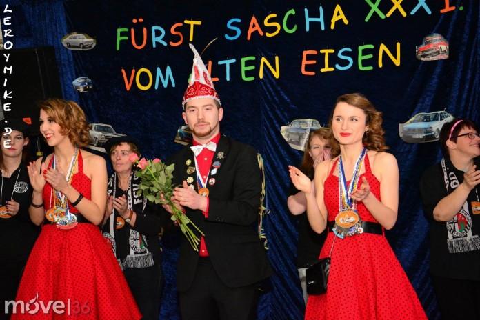 Weiberfasching FSV Germania 2015
