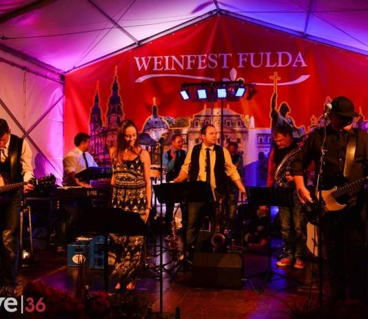 Weinfest 2015 in Fulda mit Soundaholics
